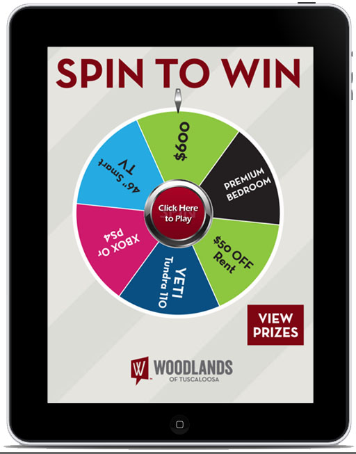 Virtual Prize Wheel Incentive Marketing Ideas For
